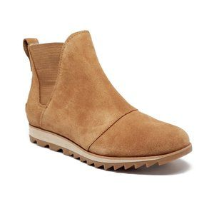 Sorel Harlow Suede Chelsea Boots Womens Size 7